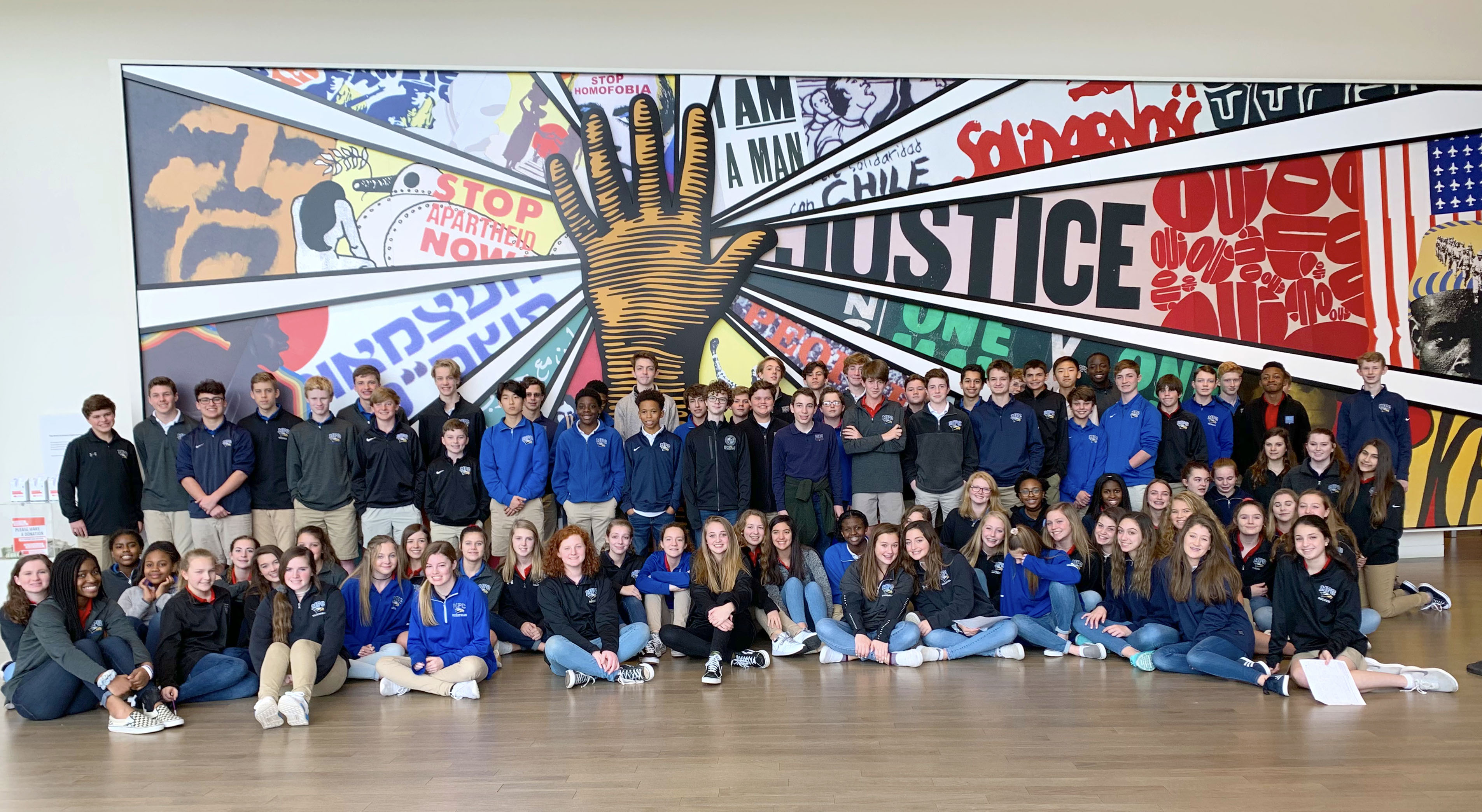 8th grade centerhumanrights trip