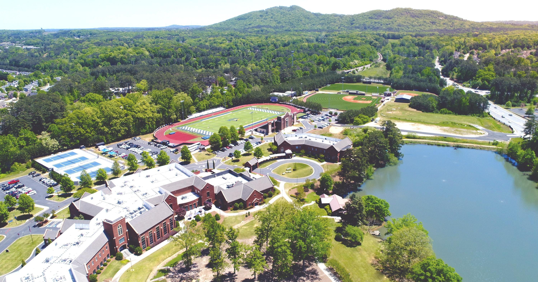 Campus Aerial wide