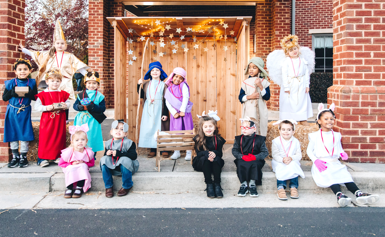 MPCS Family Christmas preschool nativity